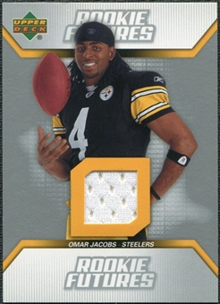 2006 Upper Deck Rookie Futures Jerseys #RFOJ Omar Jacobs