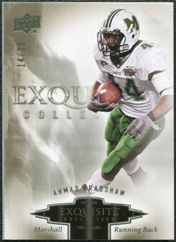 2010 Upper Deck Exquisite Collection #3 Ahmad Bradshaw /35