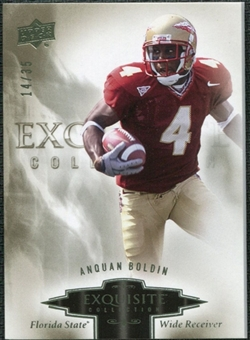 2010 Upper Deck Exquisite Collection #6 Anquan Boldin /35