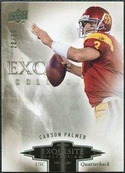 2010 Upper Deck Exquisite Collection #14 Carson Palmer /35
