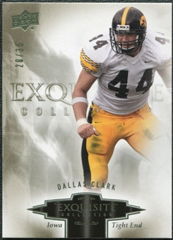 2010 Upper Deck Exquisite Collection #24 Dallas Clark /35