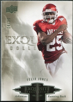 2010 Upper Deck Exquisite Collection #32 Felix Jones /35