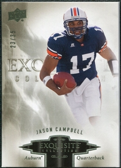 2010 Upper Deck Exquisite Collection #38 Jason Campbell /35