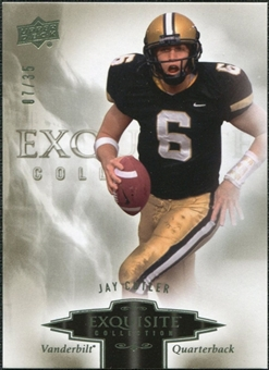 2010 Upper Deck Exquisite Collection #40 Jay Cutler /35