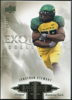 2010 Upper Deck Exquisite Collection #44 Jonathan Stewart /35