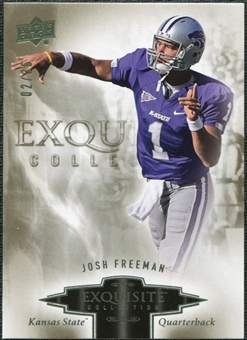 2010 Upper Deck Exquisite Collection #46 Josh Freeman /35