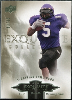 2010 Upper Deck Exquisite Collection #51 LaDainian Tomlinson /35