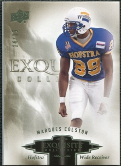 2010 Upper Deck Exquisite Collection #57 Marques Colston /35