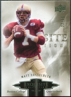 2010 Upper Deck Exquisite Collection #60 Matt Hasselbeck /35