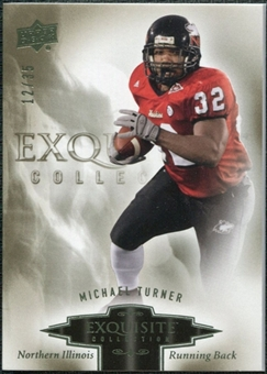 2010 Upper Deck Exquisite Collection #65 Michael Turner /35