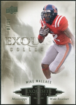 2010 Upper Deck Exquisite Collection #67 Mike Wallace /35
