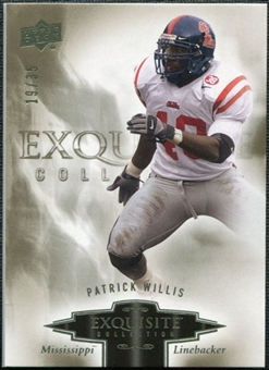 2010 Upper Deck Exquisite Collection #69 Patrick Willis /35