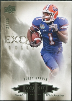 2010 Upper Deck Exquisite Collection #70 Percy Harvin /35