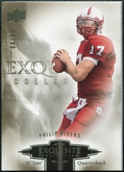 2010 Upper Deck Exquisite Collection #72 Philip Rivers /35