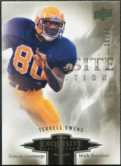 2010 Upper Deck Exquisite Collection #90 Terrell Owens /35