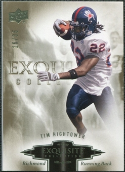 2010 Upper Deck Exquisite Collection #92 Tim Hightower /35