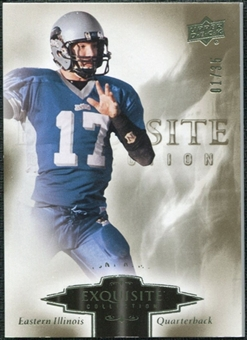 2010 Upper Deck Exquisite Collection #94 Tony Romo /35