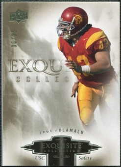 2010 Upper Deck Exquisite Collection #95 Troy Polamalu /35