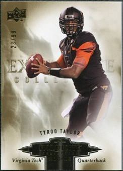 2010 Upper Deck Exquisite Collection Draft Picks #ERTT Tyrod Taylor /99