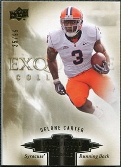2010 Upper Deck Exquisite Collection Draft Picks #ERDC Delone Carter /99