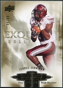 2010 Upper Deck Exquisite Collection Draft Picks #ERJJ Jerrel Jernigan /99