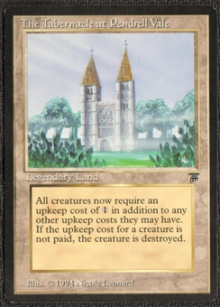 Magic the Gathering Legends Single Tabernacle at Pendrell Vale - SLIGHT PLAY (SP)