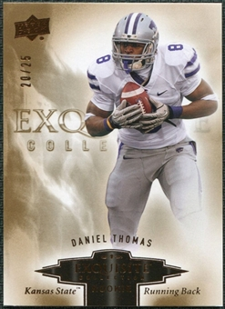 2010 Upper Deck Exquisite Collection Draft Picks Bronze #ERDT Daniel Thomas /25