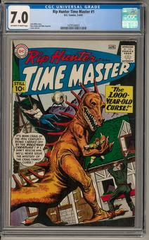Rip Hunter Time Master #1 CGC 7.0 (OW-W) *1479104003*