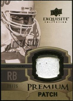 2010 Upper Deck Exquisite Collection Premium Patch #EPPBS Barry Sanders /75