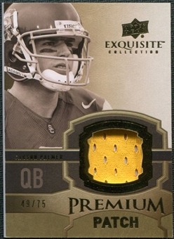 2010 Upper Deck Exquisite Collection Premium Patch #EPPCP Carson Palmer /75
