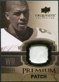 2010 Upper Deck Exquisite Collection Premium Patch #EPPMA Miles Austin /75