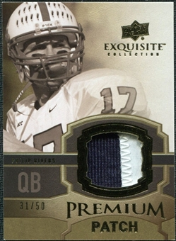 2010 Upper Deck Exquisite Collection Premium Patch #EPPPR Philip Rivers /50