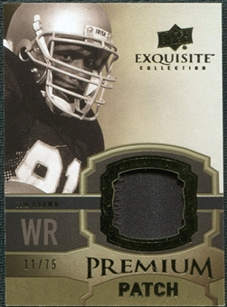 2010 Upper Deck Exquisite Collection Premium Patch #EPPTB Tim Brown /75