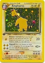 Pokemon Neo Revelations 1st Edition Single Ampharos 1/64