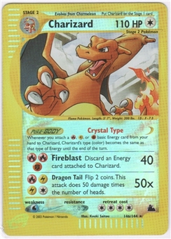 Pokemon Skyridge Single Charizard 146/144 Super
