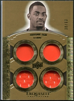 2010 Upper Deck Exquisite Collection Rare Materials #ERMAB Arrelious Benn /60