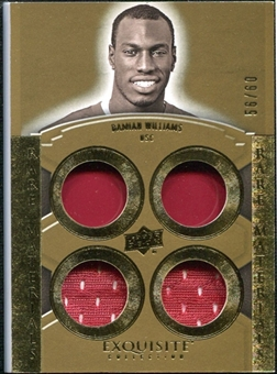 2010 Upper Deck Exquisite Collection Rare Materials #ERMDW Damian Williams /60