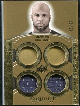 2010 Upper Deck Exquisite Collection Rare Materials #ERMGT Golden Tate /60