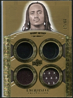 2010 Upper Deck Exquisite Collection Rare Materials #ERMMG Mardy Gilyard /60