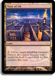 Magic the Gathering Promo Single Maze of the Ith FOIL (DCI)