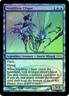 Magic the Gathering Promo Single Vendilion Clique FOIL (DCI)
