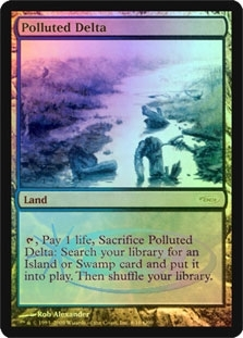 Magic the Gathering Promo Single Polluted Delta Foil (DCI)