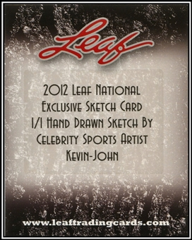 2012 Leaf National Exclusive 1/1 Sketch Card Pack
