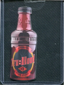 2012 Rittenhouse True Blood Premiere #CT Tru Blood Bottle DIECUT issued as case topper /667 (Rittenhouse 2012)