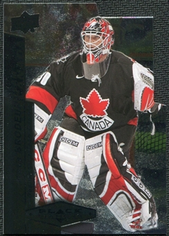 2010/11 Upper Deck Black Diamond Team Canada Die Cuts #TCMB Martin Brodeur