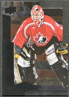 2010/11 Upper Deck Black Diamond Team Canada Die Cuts #TCRL Roberto Luongo