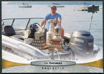 2011/12 Upper Deck Day With the Cup #DC20 Tim Thomas