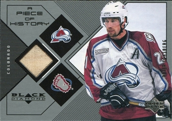 1999/00 Upper Deck Black Diamond A Piece of History #PF Peter Forsberg