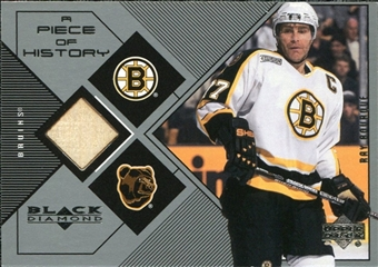 1999/00 Upper Deck Black Diamond A Piece of History #RB Ray Bourque