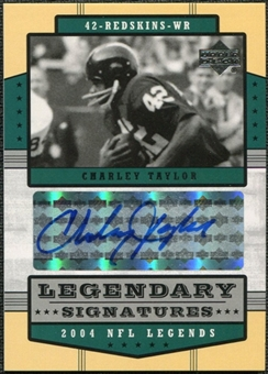 2004 Upper Deck Legends Legendary Signatures #LSCT Charley Taylor Autograph